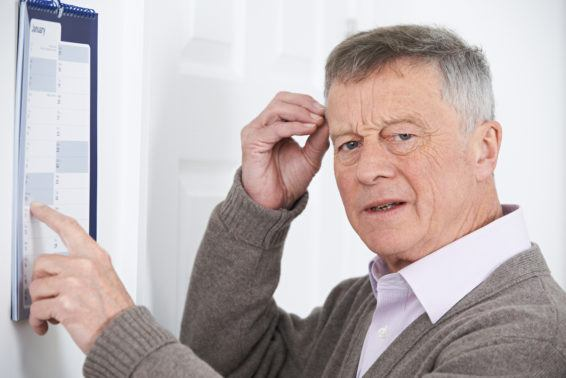 Problemy z pamięcią u seniora
