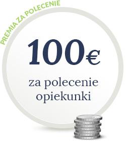 Premia za polecenie 100 Euro